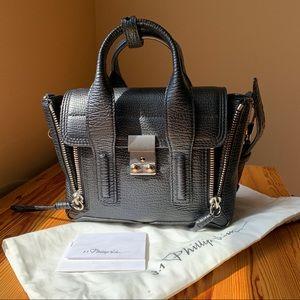 3.1 PHILLIP LIM Black Mini Pashli Satchel Bag